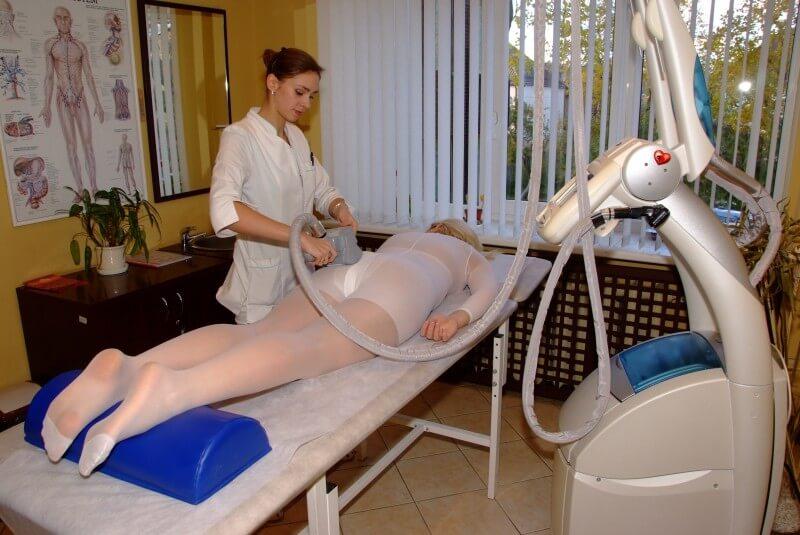 Aparatinis anticeliulitinis LPG masažas