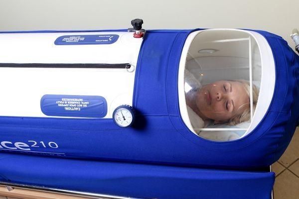 deguonies terapija baro kameroje