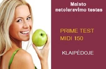 PRIME TEST MIDI 150 Klaipėdoje